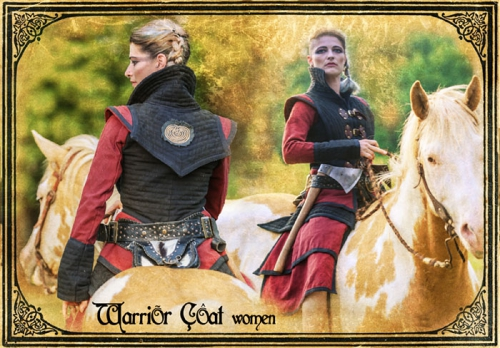 warrior woman coat
